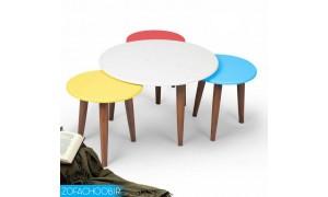 میز جلو مبلی و عسلی بهار