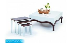 میز جلو مبلی و عسلی آبشاری