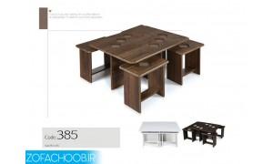 میز جلو مبلی و عسلی 385