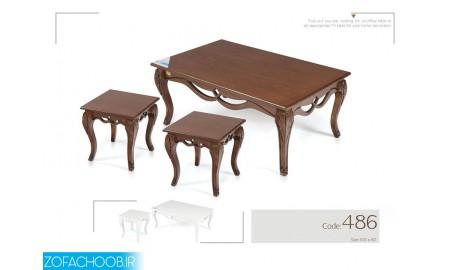 میز جلو مبلی و عسلی 486