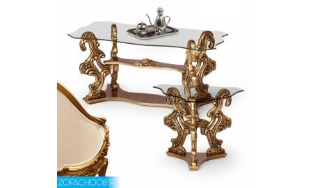 میز جلو مبلی و عسلی سلطنتی
