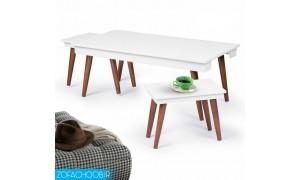 میز جلو مبلی و عسلی پایه مخروطی