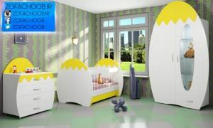 سرویس خواب نوزاد تخم مرغی